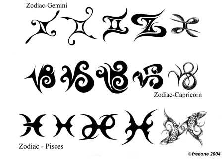 татуировки значки: