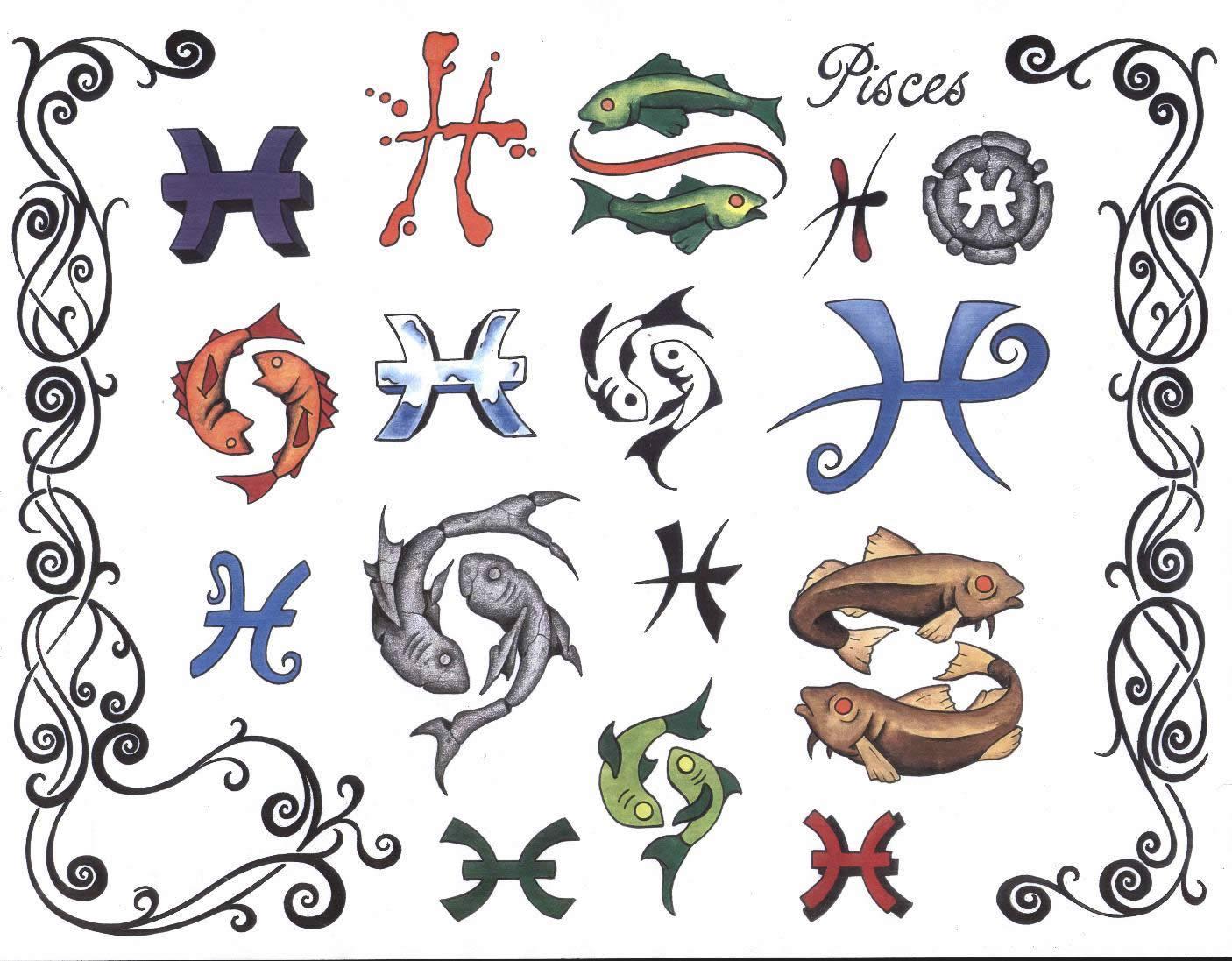 эксперта: Перед ресунки тату знак рыбы же, если выбираете